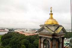 Η μεγαλοπρεπής παλαιά ρωσική πόλη Στοκ Εικόνες