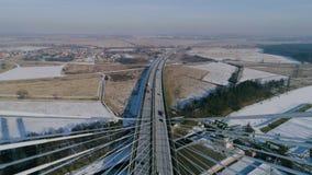 Η μεγαλύτερη γέφυρα στον κόσμο, εναέρια άποψη Στοκ φωτογραφία με δικαίωμα ελεύθερης χρήσης