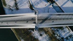 Η μεγαλύτερη γέφυρα στον κόσμο, εναέρια άποψη Στοκ εικόνα με δικαίωμα ελεύθερης χρήσης