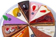 Η μεγαλύτερη μέρος της batch κέικ στοκ φωτογραφίες