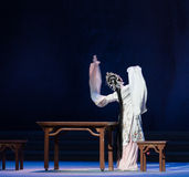 """Η μεθυσμένος-τρίτη πράξη αρσενικό κίτρινο κρασί-Kunqu Opera""""Madame άσπρο Snake† Στοκ εικόνα με δικαίωμα ελεύθερης χρήσης"""