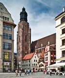 Η μεσαιωνική πόλη Στοκ Φωτογραφία