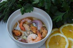 Η μεσογειακή διατροφή στοκ φωτογραφίες