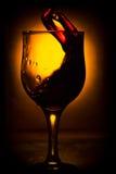 Η μετακίνηση του κρασιού Στοκ εικόνες με δικαίωμα ελεύθερης χρήσης