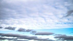 Η μετακίνηση των σύννεφων απόθεμα βίντεο