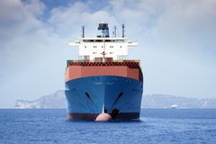 Η μεταφορά εμπορευματοκιβωτίων, διαβιβάζει Στοκ εικόνες με δικαίωμα ελεύθερης χρήσης