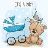Η μεταφορά μωρών και Teddy αντέχουν ελεύθερη απεικόνιση δικαιώματος