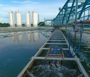 Η μητροπολιτική αρχή υδάτινων έργων στοκ εικόνα με δικαίωμα ελεύθερης χρήσης