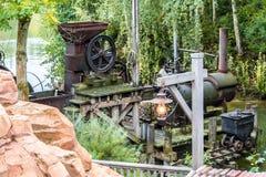 Η μηχανή ατμού Στοκ Εικόνα