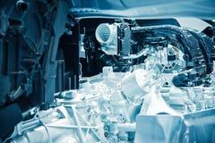 Η μηχανή αυτοκινήτων Στοκ Φωτογραφίες