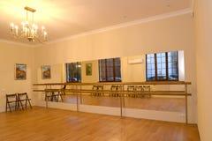 Η μηχανή μπαλέτου στην αίθουσα για τη χορογραφία επαγγελμάτων INT Στοκ Εικόνα