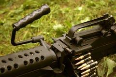 η μηχανή πυροβόλων όπλων δη&lambd Στοκ φωτογραφία με δικαίωμα ελεύθερης χρήσης