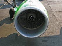 Η μηχανή του αεροπλάνου Στοκ Φωτογραφίες