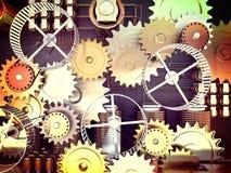 Η μηχανή Στοκ Εικόνα