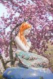 Η μικρή γοργόνα από Hans Christian Andersen ` s το βιβλίο κάτω από στοκ φωτογραφίες με δικαίωμα ελεύθερης χρήσης