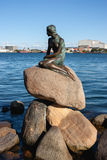 Η μικρή γοργόνα, Κοπεγχάγη Στοκ εικόνα με δικαίωμα ελεύθερης χρήσης