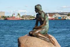 Η μικρή γοργόνα, Κοπεγχάγη Στοκ εικόνες με δικαίωμα ελεύθερης χρήσης