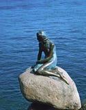 Η μικρή γοργόνα Κοπεγχάγη Στοκ Εικόνες