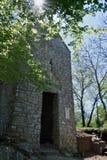 Η μικρή εκκλησία του ST Krsevan, Krk, Κροατία στοκ φωτογραφία