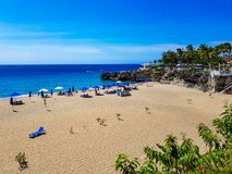 Η μικρή παραλία Sosua, Puerto Plata στοκ εικόνα με δικαίωμα ελεύθερης χρήσης
