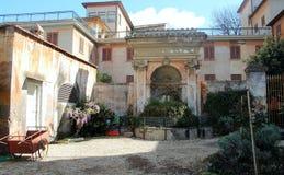 Η μονή Trinitàτου dei Monti στη Ρώμη Στοκ Φωτογραφίες