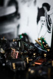 Η μοναδική επαγγελματική μηχανή δερματοστιξιών Στοκ φωτογραφία με δικαίωμα ελεύθερης χρήσης