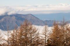 Η μορφή άποψης τοποθετεί το Φούτζι Στοκ Εικόνα