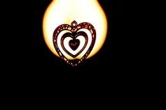 Η μορφή αγάπης αντιτίθεται φωτογραφία αποθεμάτων Στοκ Εικόνα