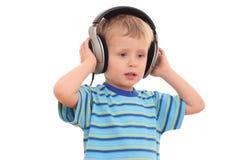 η μουσική χαλαρώνει Στοκ Εικόνα