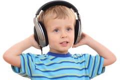 η μουσική χαλαρώνει Στοκ Εικόνες