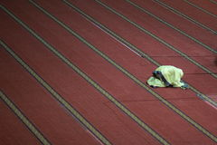 η μουσουλμανική θέση ικεσίας προσεύχεται τις γυναίκες Στοκ εικόνες με δικαίωμα ελεύθερης χρήσης