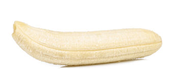 η μπανάνα ανασκόπησης απομόνωσε το λευκό Στοκ εικόνα με δικαίωμα ελεύθερης χρήσης