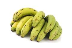 η μπανάνα ανασκόπησης απομόνωσε το λευκό Στοκ φωτογραφίες με δικαίωμα ελεύθερης χρήσης