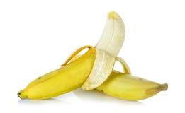 η μπανάνα ανασκόπησης απομόν Στοκ Φωτογραφία