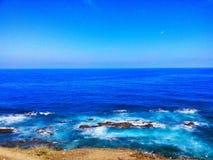 Η μπλε ευρεία θάλασσα στοκ φωτογραφίες με δικαίωμα ελεύθερης χρήσης