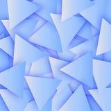 Η μπλε χρωματισμένη αφηρημένη polygonal γεωμετρική σύσταση, τρισδιάστατο υπόβαθρο τριγώνων Τριγωνικό υπόβαθρο μωσαϊκών για τον Ισ Στοκ φωτογραφία με δικαίωμα ελεύθερης χρήσης