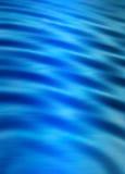 η μπλε ψηφιακή EFF κυματίζει το ύδωρ Στοκ Φωτογραφίες