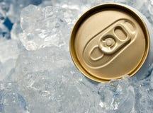 η μπύρα μπορεί να παγώσει Στοκ Εικόνα