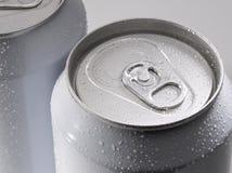 η μπύρα μπορεί σόδα Στοκ φωτογραφία με δικαίωμα ελεύθερης χρήσης