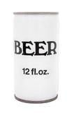 η μπύρα μπορεί τρύγος Στοκ εικόνα με δικαίωμα ελεύθερης χρήσης