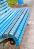 Μπλε λεπτομέρεια πάγκων Στοκ εικόνα με δικαίωμα ελεύθερης χρήσης