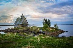 Η μυθική φύση της βόρειας Καρελίας Στοκ φωτογραφία με δικαίωμα ελεύθερης χρήσης