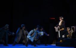 Η μυστική â€œTaking τίγρη Montain οπερών χάρτης-Πεκίνου επαφών από Strategy† Στοκ Εικόνες