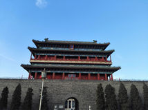 Η μόνη πόλη στην πόλη του Πεκίνου είναι πληρέστερη Στοκ εικόνες με δικαίωμα ελεύθερης χρήσης