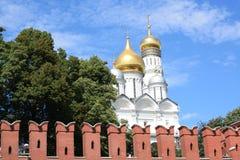 Η Μόσχα Κρεμλίνο Στοκ Φωτογραφία
