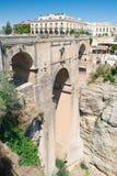 Η νέα γέφυρα, Ronda, Ανδαλουσία, Ισπανία Στοκ φωτογραφίες με δικαίωμα ελεύθερης χρήσης