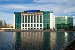 Η νέα οικοδόμηση της εθνικής βιβλιοθήκης του Βουκουρεστι'ου Στοκ φωτογραφίες με δικαίωμα ελεύθερης χρήσης