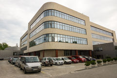Η νέα οικοδόμηση του ελεύθερου πανεπιστημίου Bourgas, Βουλγαρία Στοκ Εικόνα