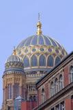 Η νέα συναγωγή στο Βερολίνο στοκ φωτογραφία με δικαίωμα ελεύθερης χρήσης