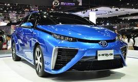 Η νέα Toyota Mirai στη διεθνή έκθεση αυτοκινήτου της 36ης Μπανγκόκ στοκ φωτογραφίες με δικαίωμα ελεύθερης χρήσης